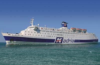 Adria Ferries Fracht