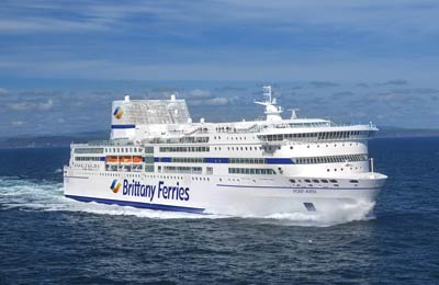 Brittany Ferries Fracht