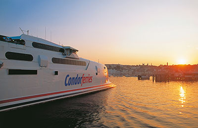 Condor Ferries Fracht
