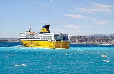Corsica Sardinia Ferries Lkwfähren
