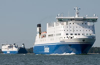 Finnlines Lkw Fähren