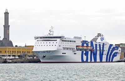 Grandi Navi Veloci Lkw Fähren