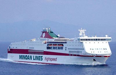 Minoan Lines Fracht