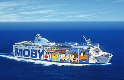 Moby Lines Lkwfähren
