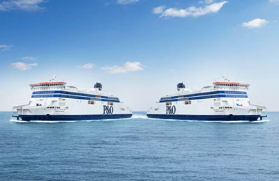 P&O Ferries Lkwfähren