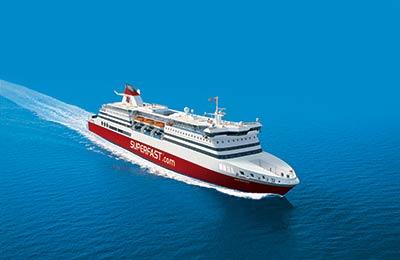 Superfast Ferries Lkw Fähren
