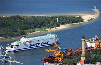 Unity Line Lkw Fähren