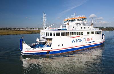 Wightlink Ferries Lkw Fähren